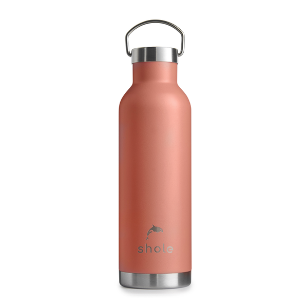 Shole Insulated Steel Bottle - Coral - Smug Store