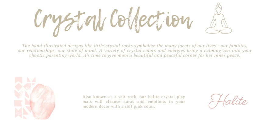 Crystal Collection Halite Play Mat