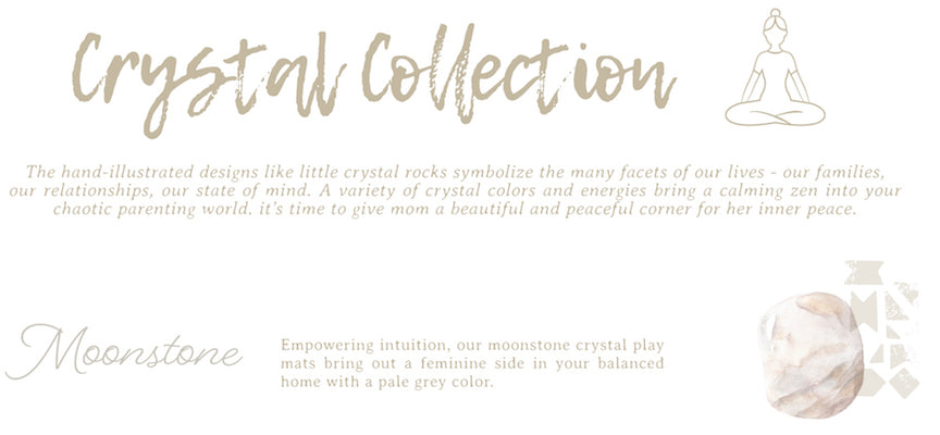 Famokids Crystal Collection Moonstone Play Mat