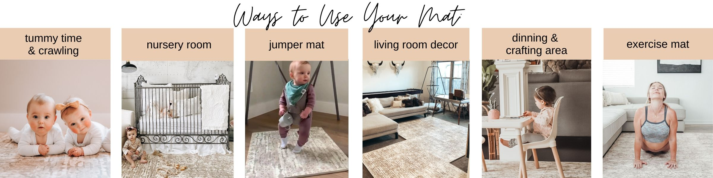 Famokids play mat ways to use
