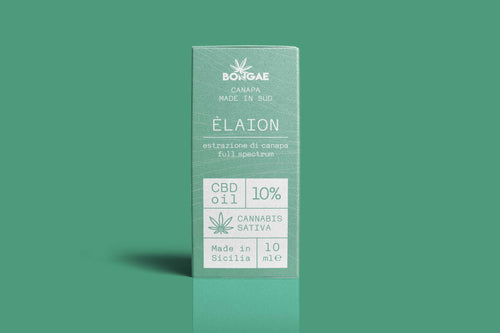 CBD OIL - Elaion 10 % - 10 ml - Bongae