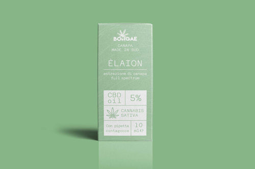 CBD OIL -  Elaion  5 % - 10 ml - Bongae