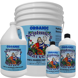 Neptune's Harvest Organic Fish & Seaweed Blend Organic Fertilizer