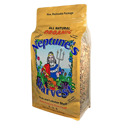 Neptune's Harvest Organic Crab Shell Fertilizer 4 lb