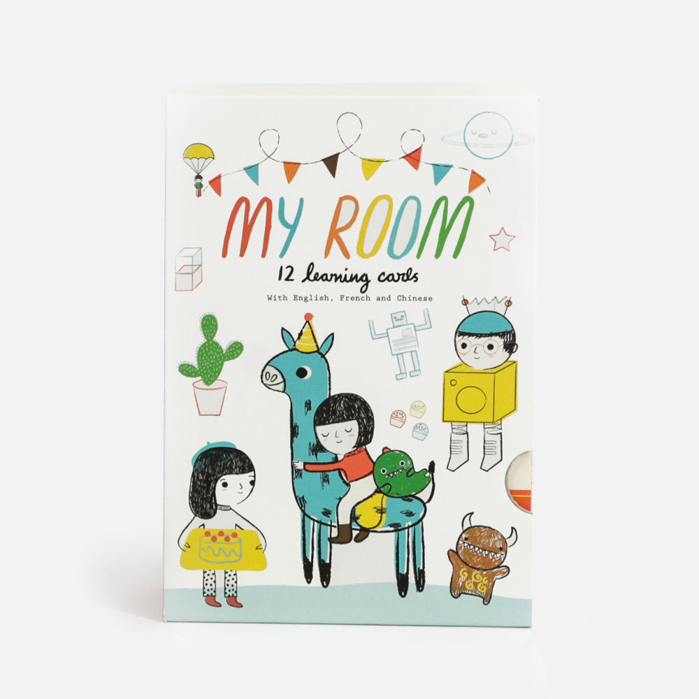 Learning Cards – My Room