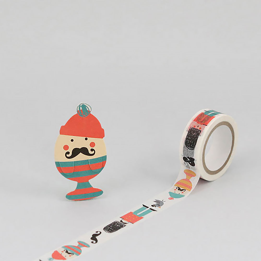 Egg and Soldier Masking Tape
