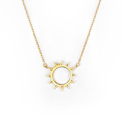 Sunshine Necklace Gold - Wildflowers