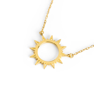 Sunshine Necklace Gold