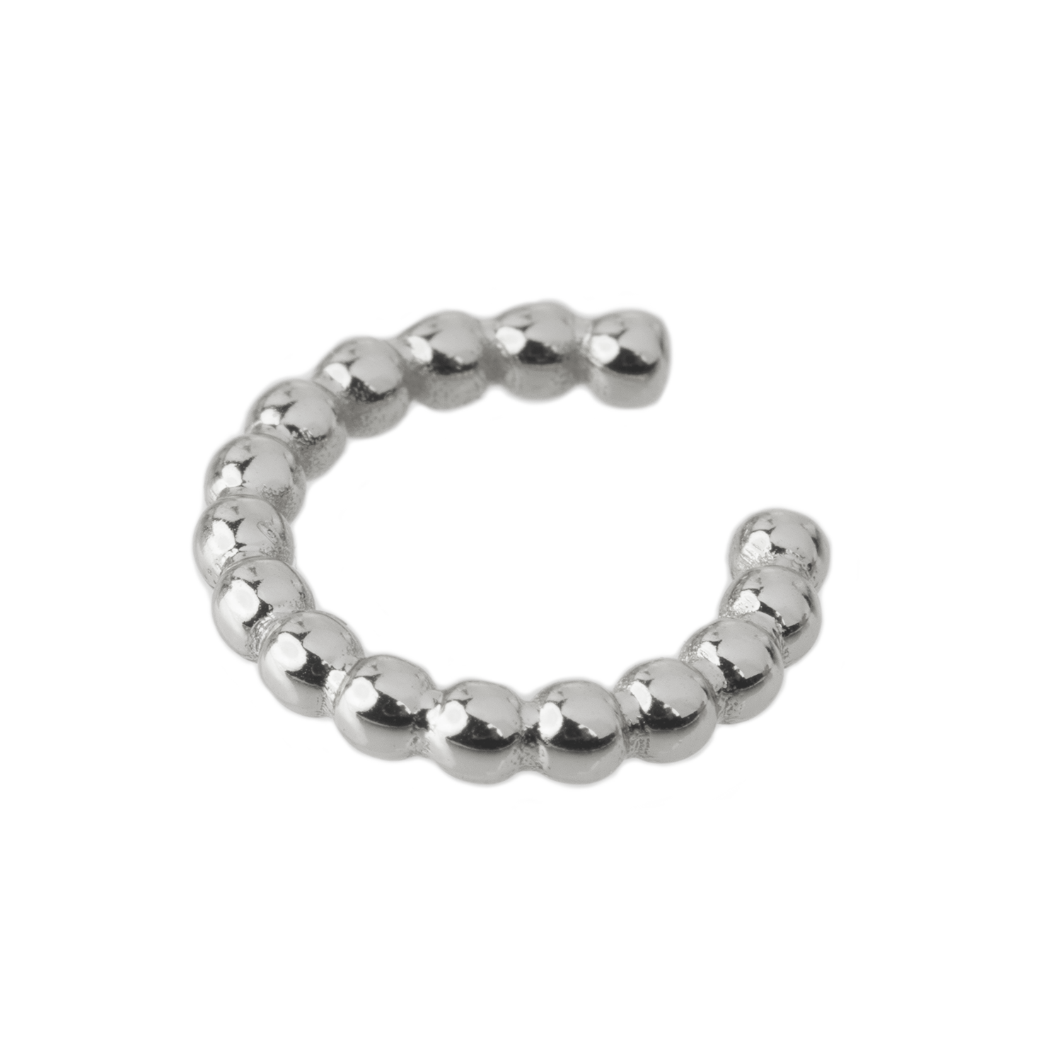 Bead it Cuff Silber