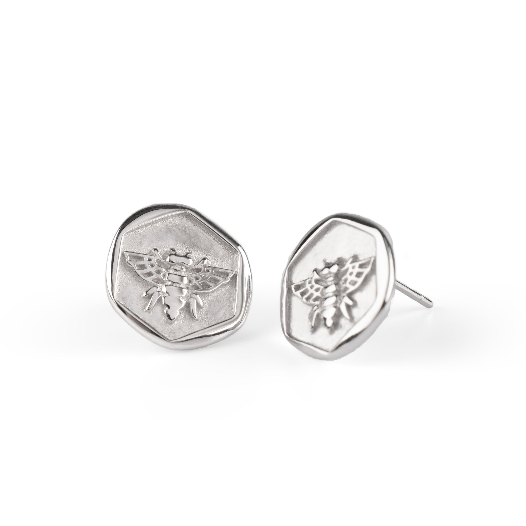 Honeybee Earrings Silber - Wildflowers