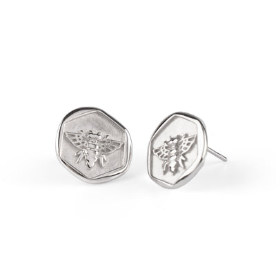 Honeybee Earrings Silber