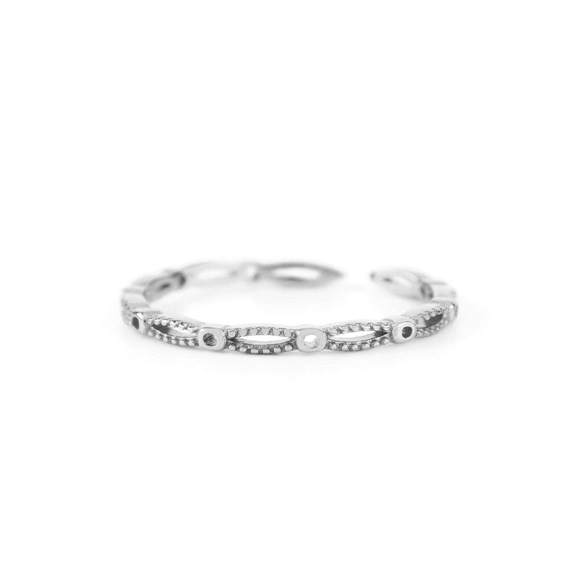 Beyond the Horizon Ring Silber - Wildflowers