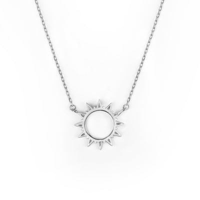 Sunshine Necklace Silber