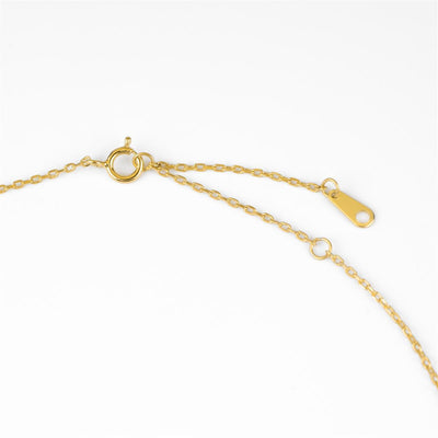Live to Express Necklace Gold