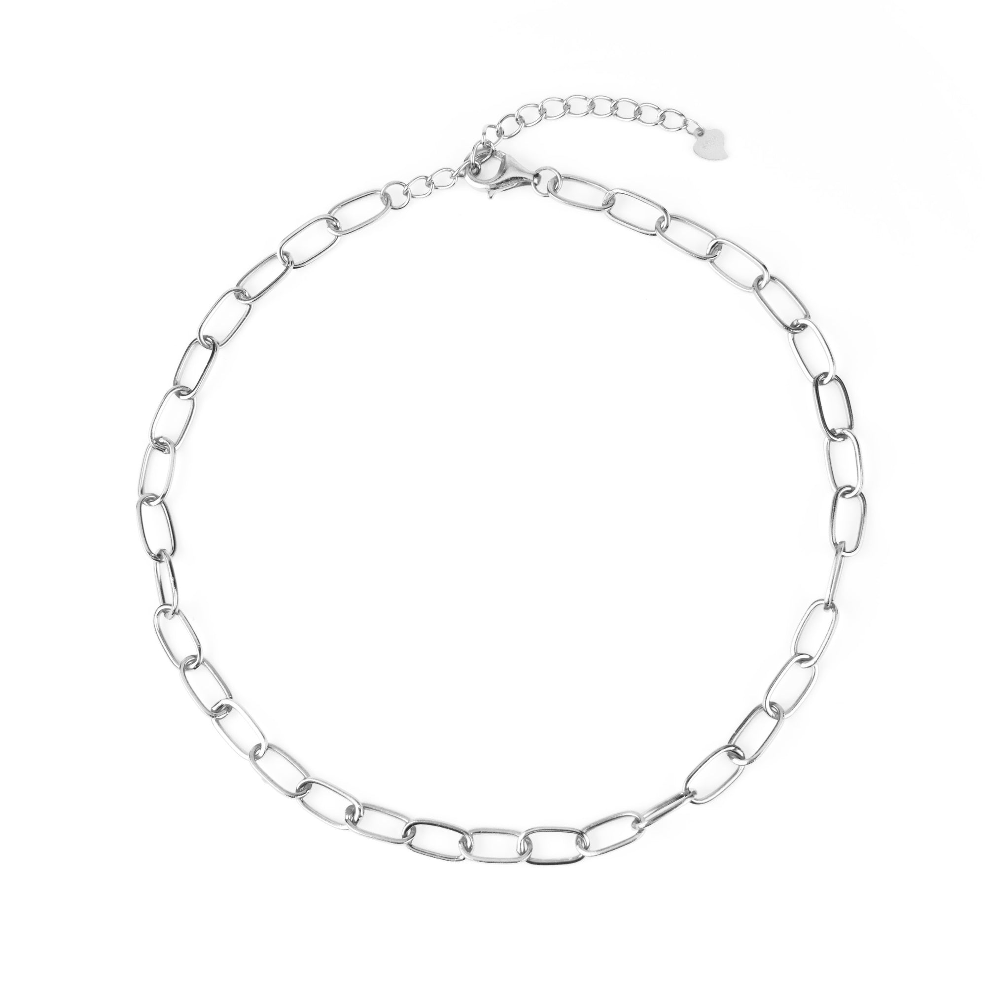 Chain Necklace Silber