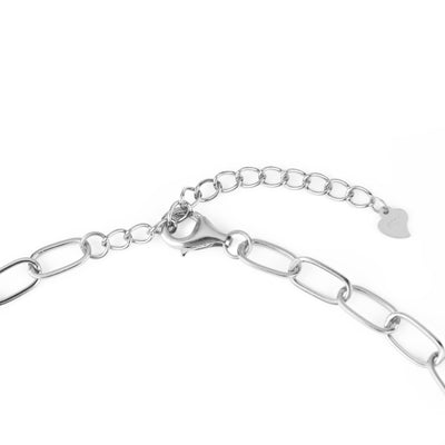 Chain Necklace Silber - Wildflowers