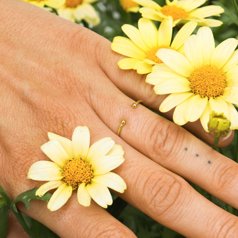 Basic Ring Gold - Wildflowers