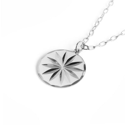 Cornflower Necklace Silber - Wildflowers