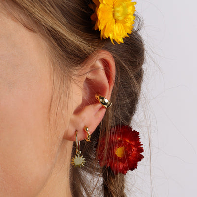 Dancing Sunshine Hoops Gold - Wildflowers