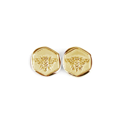 Honeybee Earrings Gold