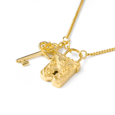 Key To My Heart Necklace Gold SALE