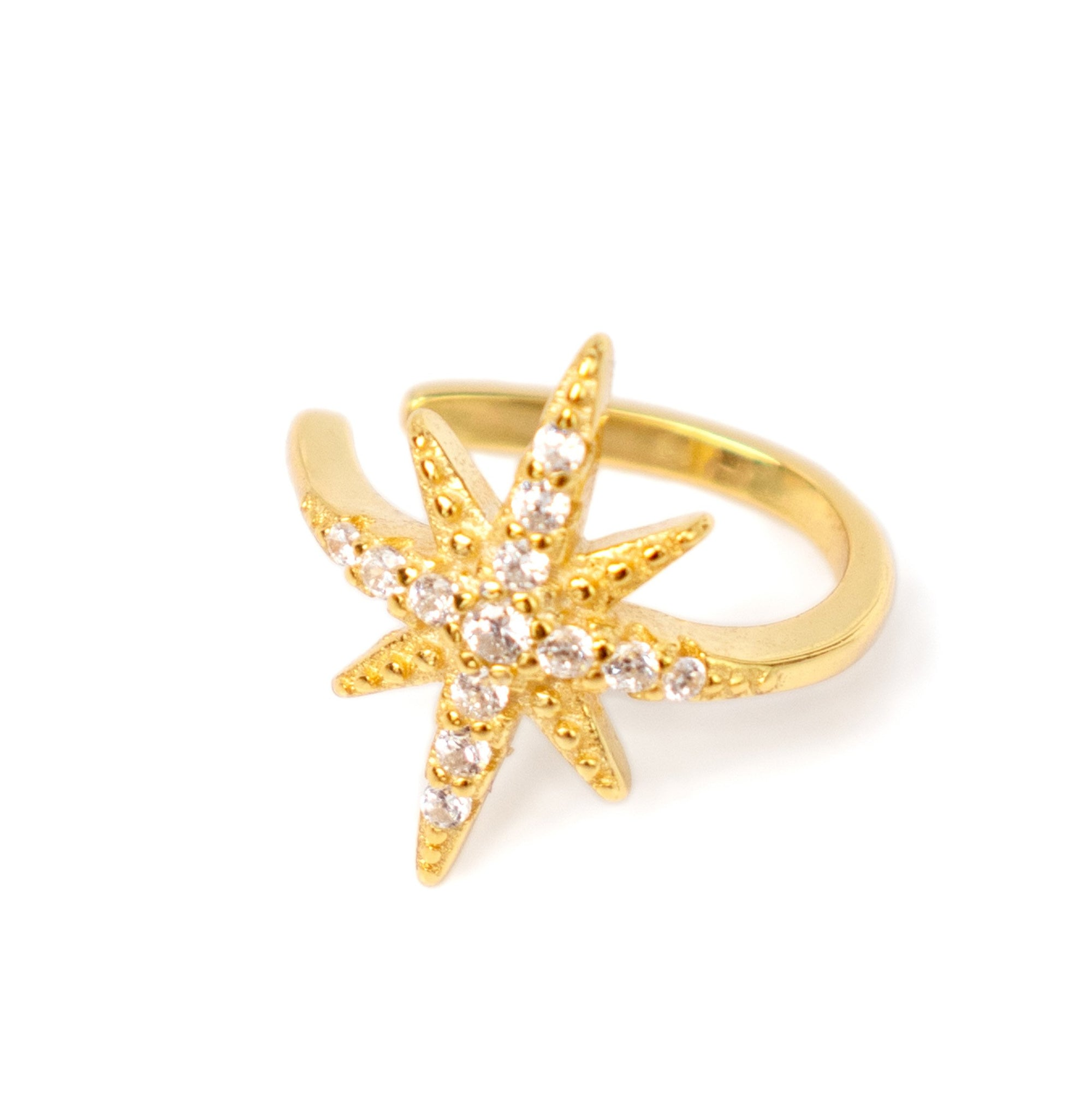 Star Cuff Gold - Wildflowers