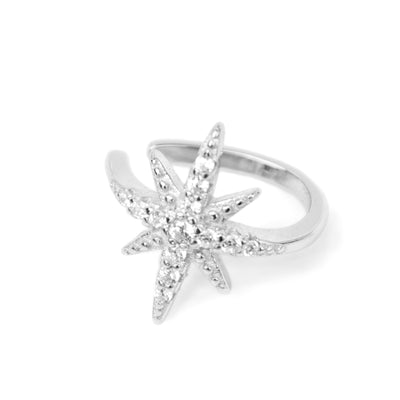 Star Cuff Silber - Wildflowers