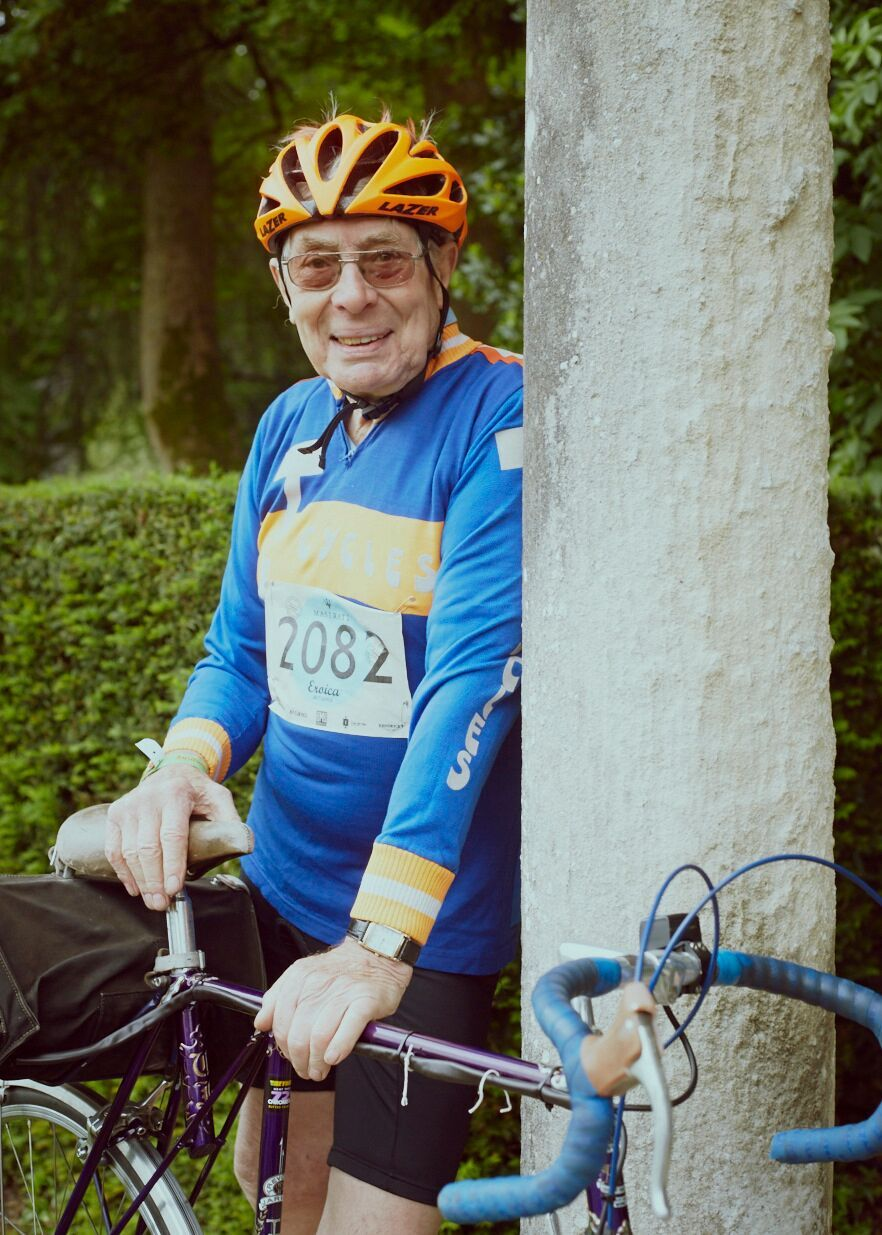 Eroica Britannia 2016 - Trevor Jarvis aka Mr Flying Gate