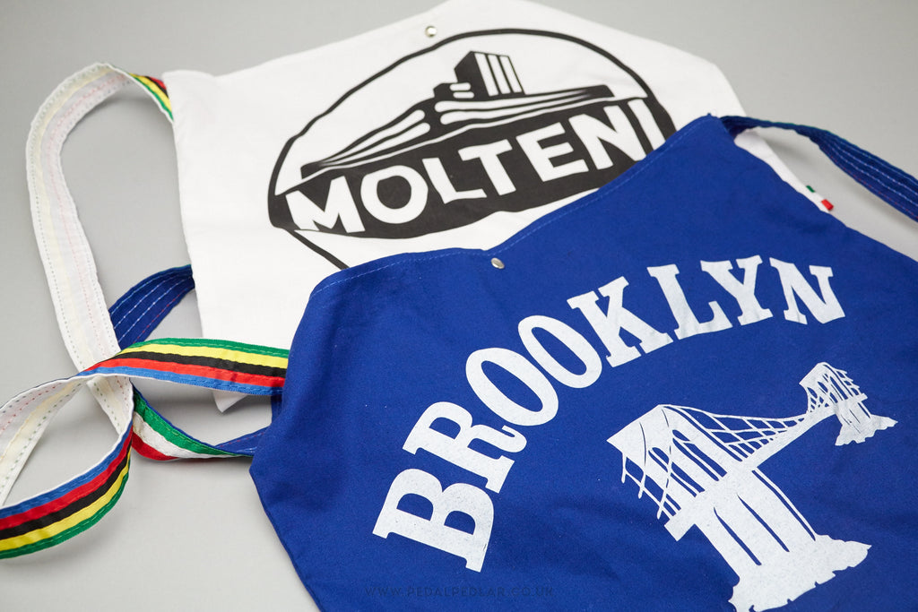 Retro & Vintage Musettes in Classic Team Designs at Pedal Pedlar