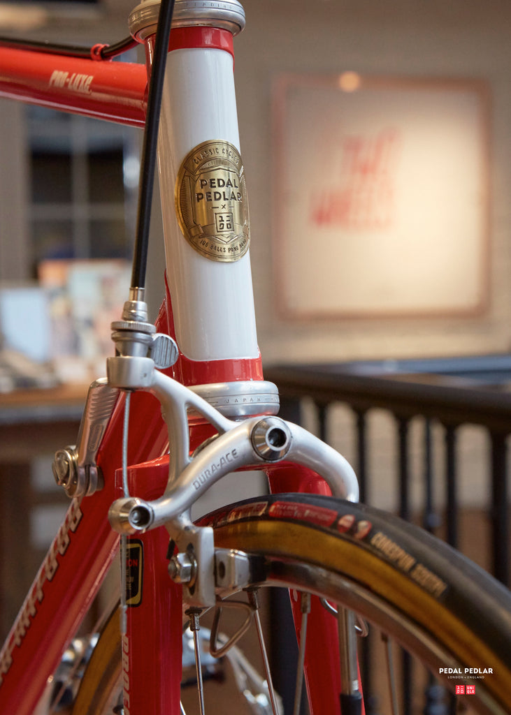 The Pedal Pedlar X Uniqlo Custom Bicycle at 311 Oxford Street, London