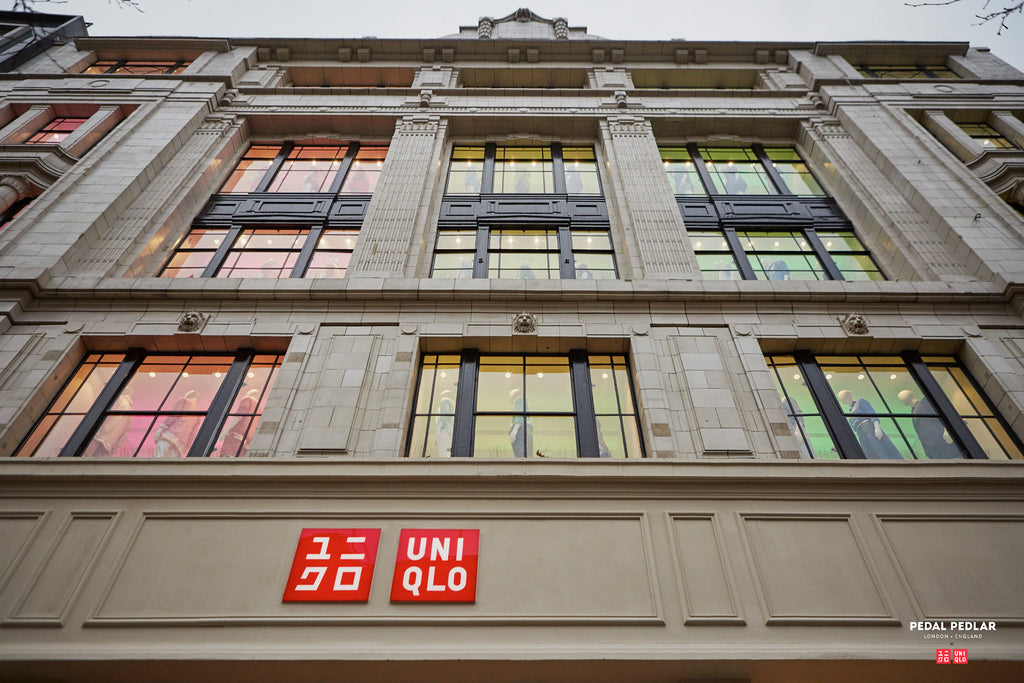 Uniqlo X Pedal Pedlar at the Relaunch Global Flagship Store at 311 Oxford Street