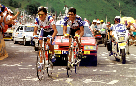 Chiappucci and Indurain
