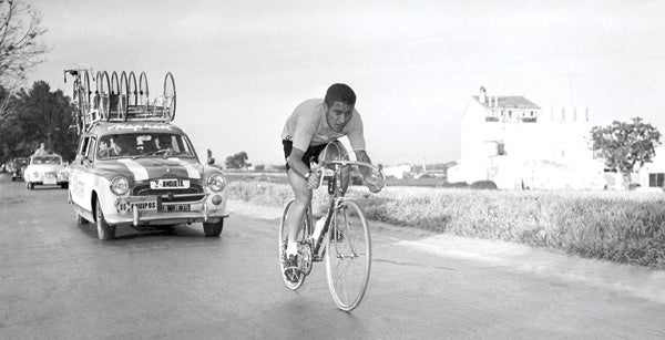 Jacques Anquetil at the 1963 Vuelta a España