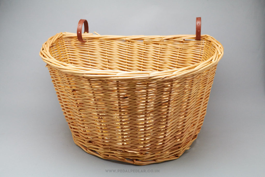 Retro Wicker Baskets for Vintage Town Bikes at Pedal Pedlar