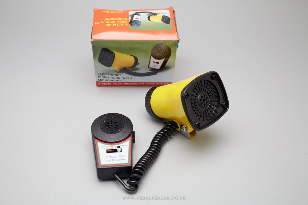 Deco 3-Tone Siren with Microphone for Kids Bikes at Pedal Pedlar