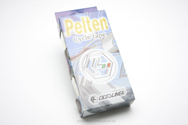 Ciclolinea Pelten White Bar Tape - Pedal Pedlar - Classic & Vintage Cycling