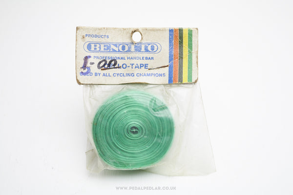 Benotto Cello-Tape NOS Green Handlebar Tape - Pedal Pedlar