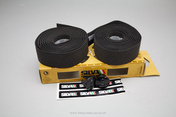Silva Black Cork Bar Tape - Pedal Pedlar