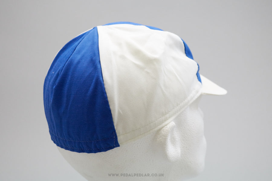 Blue And White NOS Cycling Cap