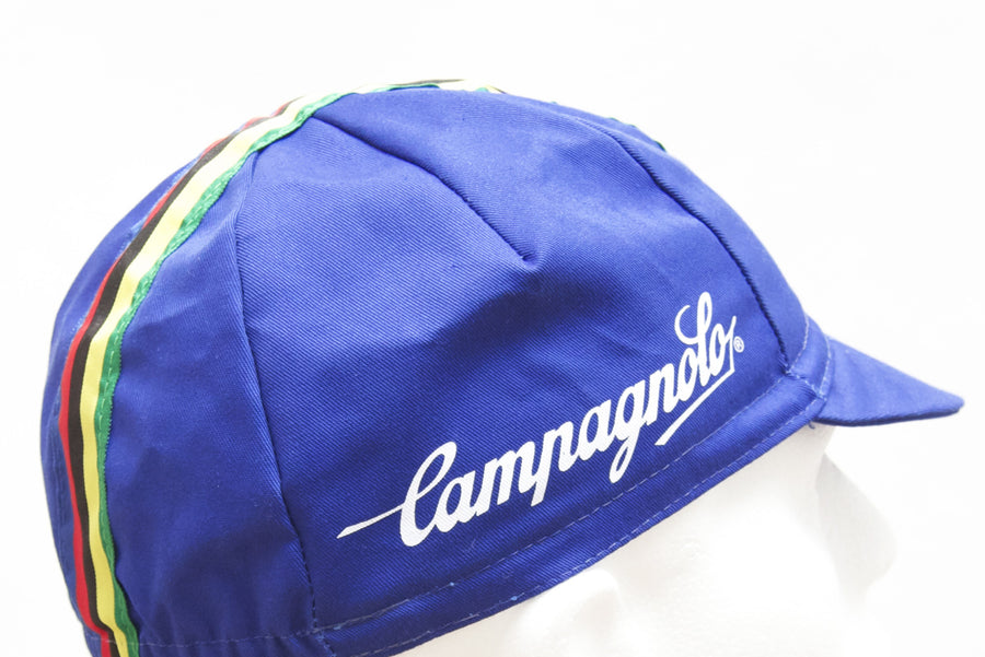 Campagnolo Cycling Cap Royal Blue - Pedal Pedlar  - 1
