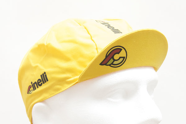 Cinelli Supercorsa Yellow Cycling Cap - Pedal Pedlar  - 1