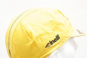 Cinelli Supercorsa Yellow Cycling Cap - Pedal Pedlar  - 2