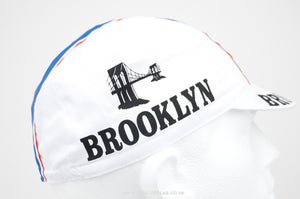 Brooklyn White Cycling Cap - Pedal Pedlar  - 2