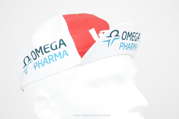 Lotto Omega Pharma Cycling Cap - Pedal Pedlar  - 1