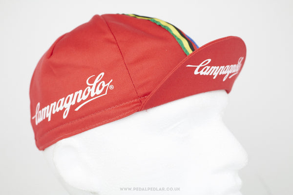 Campagnolo Red Cycling Cap - Pedal Pedlar  - 1