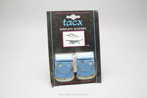 Tacx NOS Adjustable Vintage Shoe Plates/Cleats - Pedal Pedlar  - 1