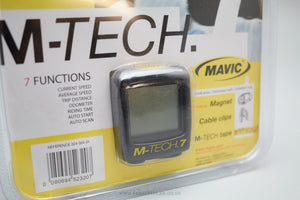 Mavic M-Tech 7 NOS Cycling Computer - Pedal Pedlar  - 3