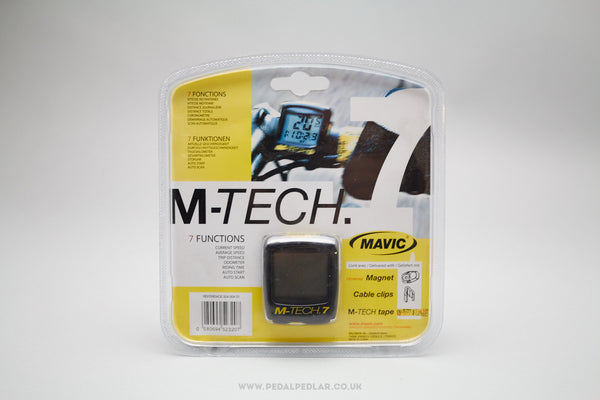 Mavic M-Tech 7 NOS Cycling Computer - Pedal Pedlar  - 1