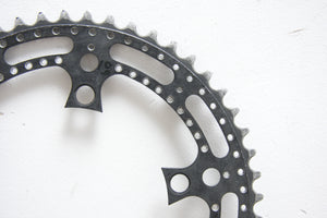 52T Stronglight Drilled Vintage Chainring - Pedal Pedlar  - 2