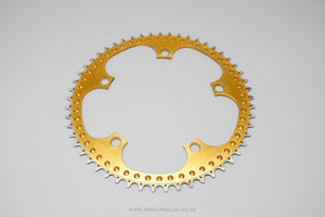 53t Unbranded Drilled Vintage Chainring